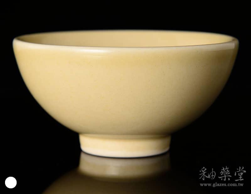 陶藝HGA-01-淺黃釉藥GA01-glaze-1