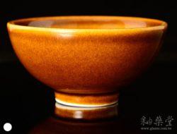 陶藝HGA-03-咖啡褐釉藥GA03-glaze-1