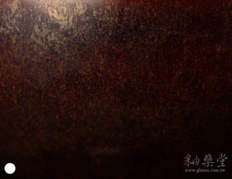 陶藝HGB-06-黑褐釉藥GB06-glaze-1