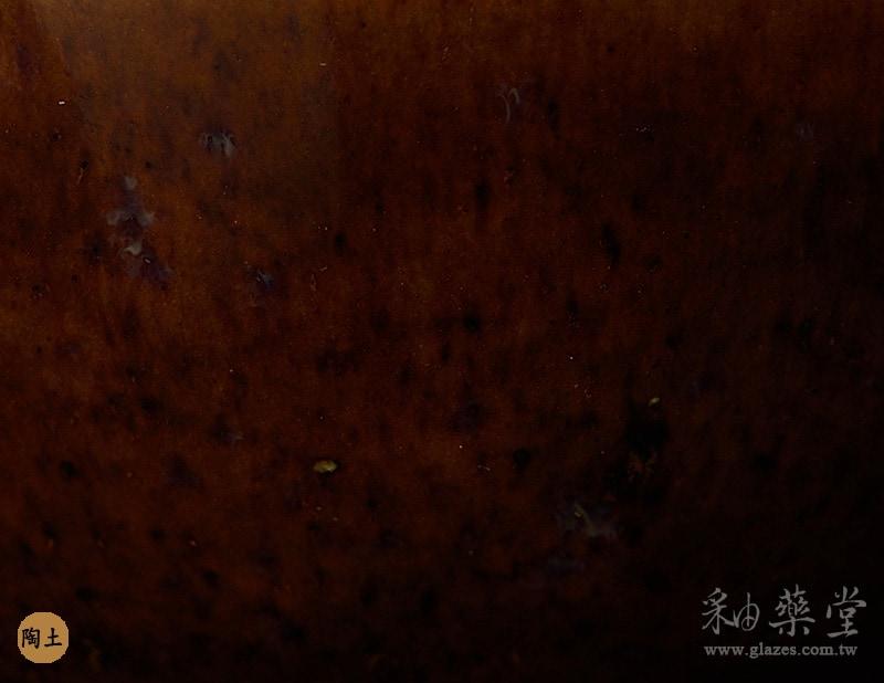 陶藝HGB-09-赭咖啡釉藥GB09-glaze-pottery-clay-2