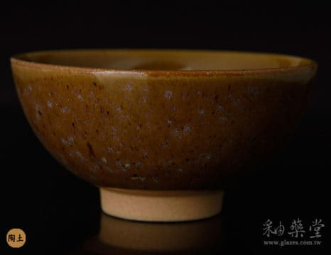 陶藝HGB-10-褐黃釉藥GB10-glaze-pottery-clay-2