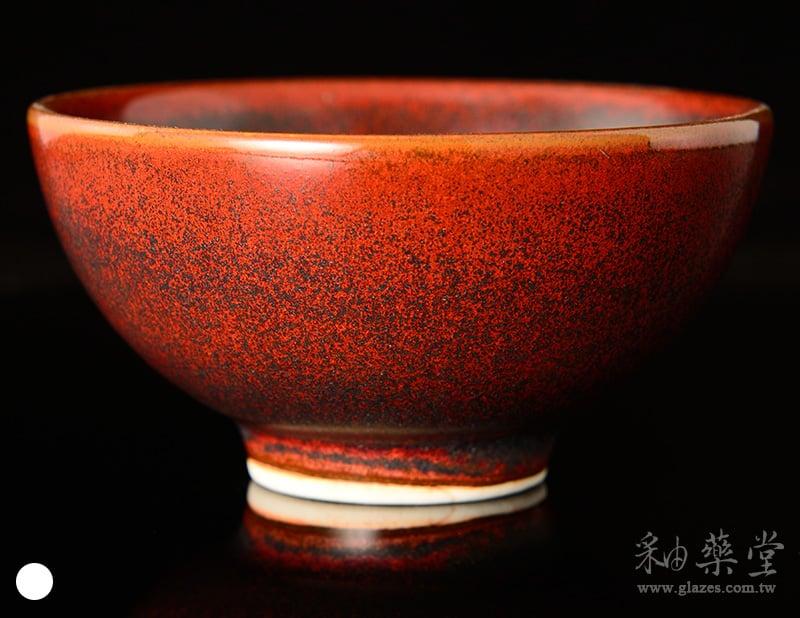 陶藝IRG-03-鐵紅黑斑釉藥IR03-Iron-glaze-1