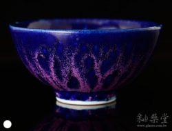 陶藝ART-07-鈷藍紫條紋釉藥
