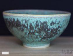 ART-09-無光銅銹綠黑斑陶藝釉藥