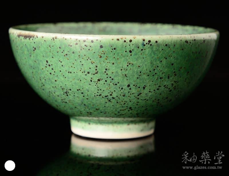 陶藝ART-12-銅綠黑斑點釉藥