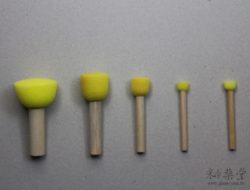 GT02 -陶藝工具-海綿棒/海綿刷/蝶古巴特拓印棒