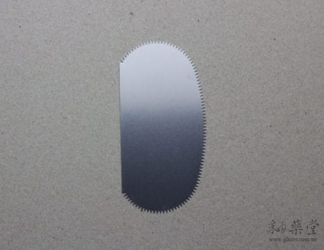 ST01-05-陶藝工具-鋸齒刮片