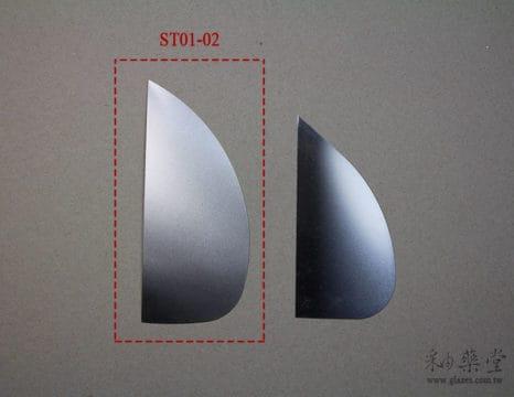 陶藝工具ST01-02 刮片Steel_Scraper_12