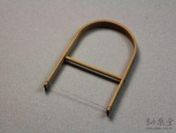 CC11-陶藝工具-竹弓切土器/線切
