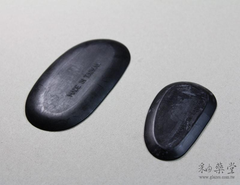 陶藝橡膠刮片工具(黑)(2片1套)pottery_rubber_palette_02_02