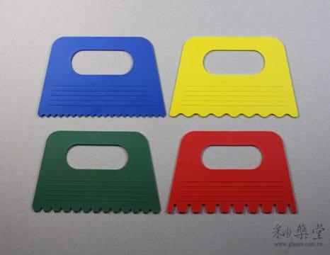 陶藝波紋橡膠刮片工具(4片1套)-pottery_rubber_palette_04