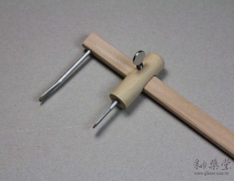 ET80 陶藝製壺工具-矩車/泥條車
