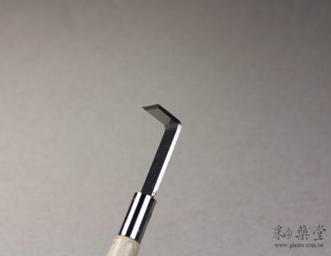 陶藝工具 AT33-雙頭鋼片修坯刀Ribbon_Tools_09_01