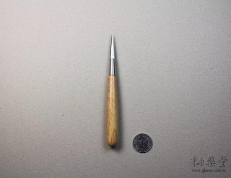 陶藝工具KT05-雙面尖刀(小)pottery-Knife-tools-KT05-02