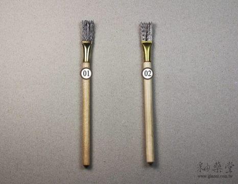 陶藝工具CS32 波紋鐵刷scratch_wire_brush_02_01