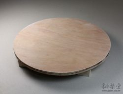 陶藝工具XT04-圓型木板/規板(有腳)pottery-board-02-01