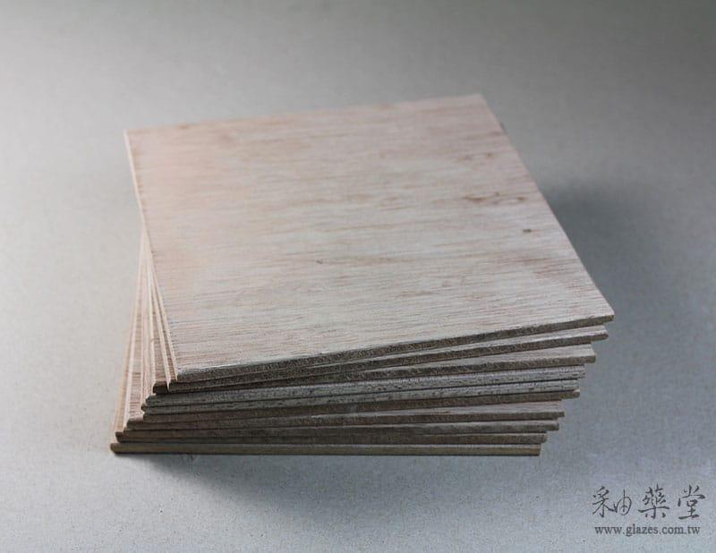 陶藝工具XT01-正方小木板/規板(無腳)pottery-board-03-01