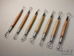 陶藝工具AT05-修坯刀組(6吋)(7支1組)Double-Ribbon-Tools-RT05-02
