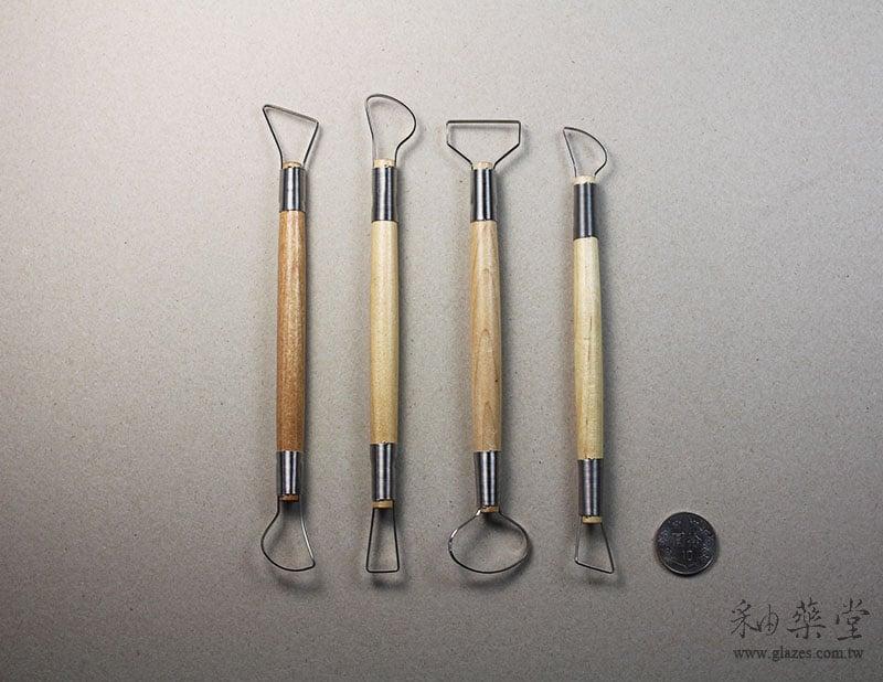 陶藝工具AT09-修坯刀組(8吋)(4支1組)Double-Ribbon-Tools-RT09-02