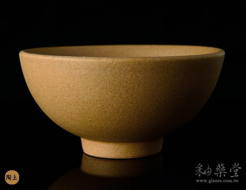 陶藝MAT-37-無光淡銘黃釉藥MAT-37-glaze-pottery-clay-1