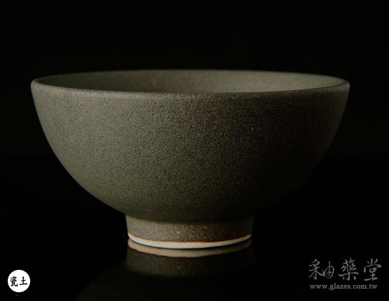 陶藝MAT-40-無光深灰釉藥MAT-40-glaze-pottery-clay-1