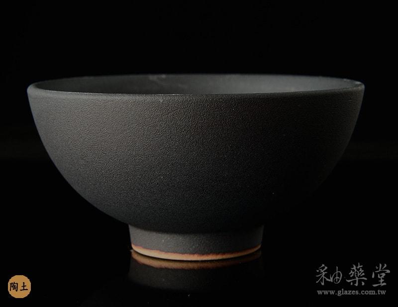陶藝MAT-41-無光黑釉藥MAT-41-glaze-pottery-clay-1