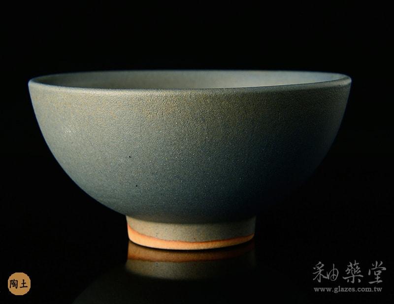 陶藝MAT-55-無光水藍釉藥MAT-55-Matte -glaze-pottery-clay-1