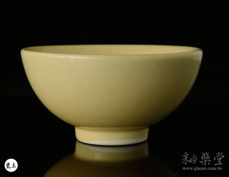 陶藝釉藥PGG-105-淡鎘黃色釉PGG-105-Color-glaze-porcelain-clay-1