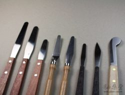 陶藝工具KT00-01 綜合刀具組(8件一組)pottery-Knife-tools-KT00-03