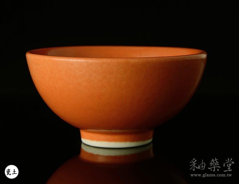 陶藝釉藥PGG-206-鎘橙色釉PGG-206-Color-glaze-porcelain-clay-1