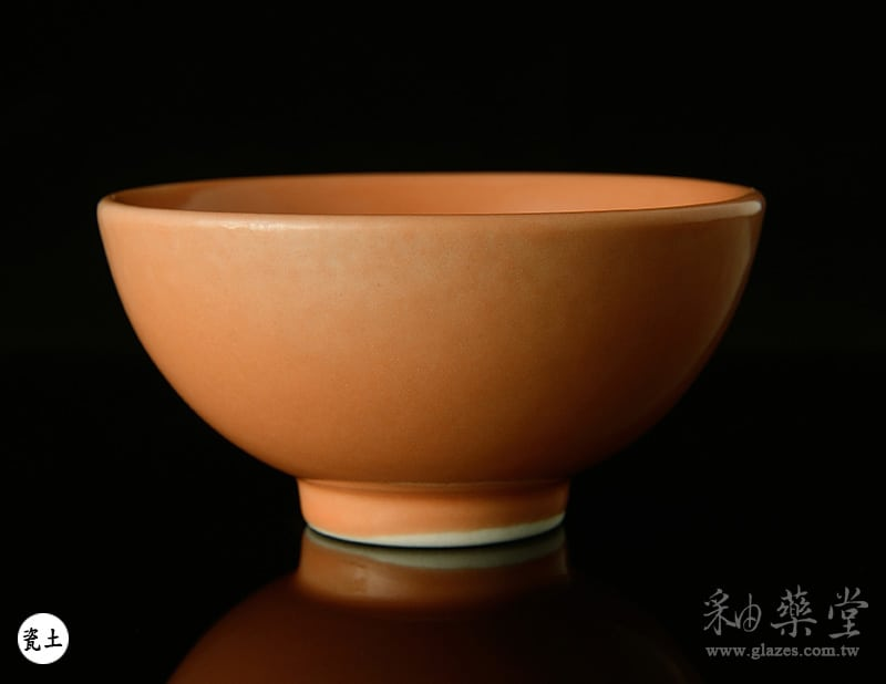 陶藝釉藥PGG-207-淡橘紅色釉PGG-207-Color-glaze-porcelain-clay-1