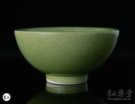 陶藝釉藥PGG-804-淡鉻綠色釉PGG-804-Color-glaze-porcelain-clay-1
