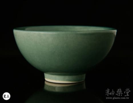 陶藝釉藥PGG-808-淡深藍綠色釉PGG-808-Color-glaze-porcelain-clay-1