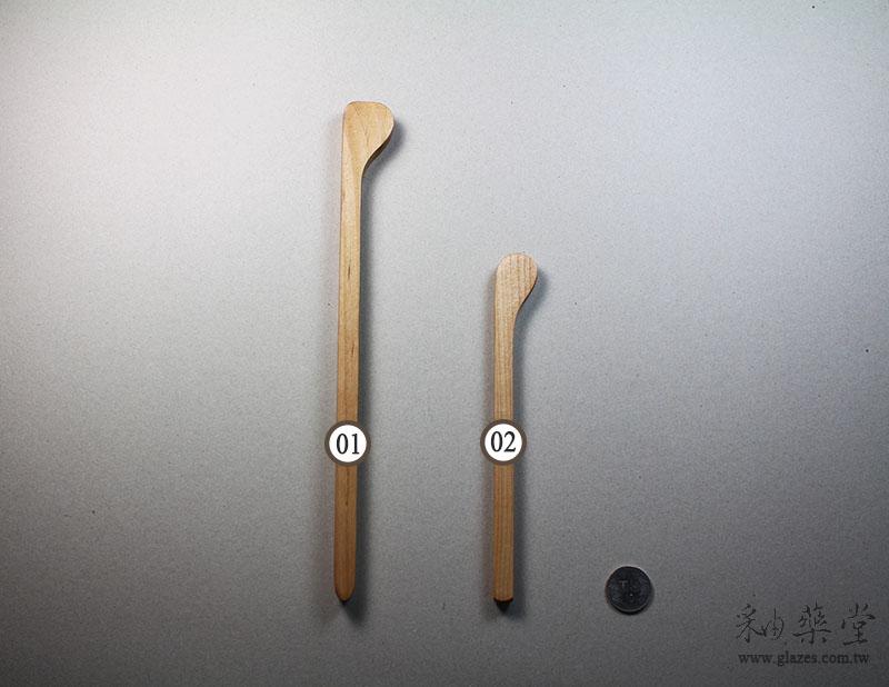 陶藝工具PT15 木柄抹板-C款Throwing_Sticks_04_03