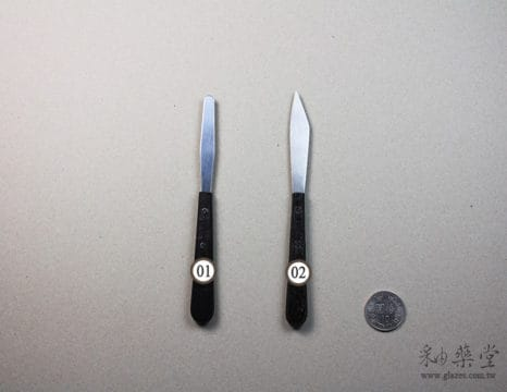 陶藝工具KT03 刮刀組pottery-Knife-tools-KT00-12