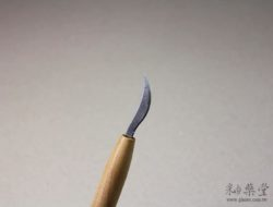 陶藝工具KT07 小彎刀pottery-Knife-tools-KT07-02