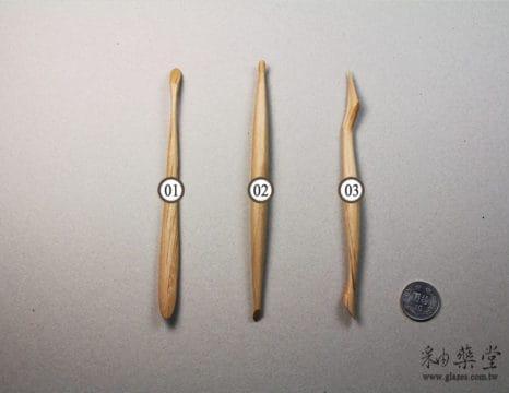 陶藝工具BT17 特殊木刀-A款