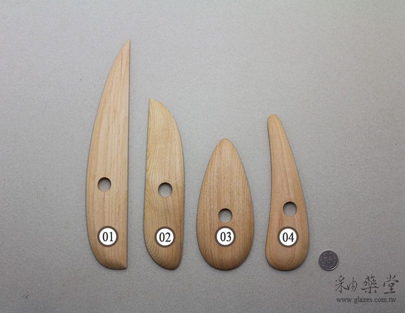 陶藝工具BT02-木片/弧形板-B款