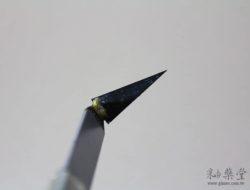陶藝工具AT31-臺製鎢鋼修坯刀AT31-07