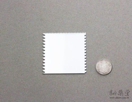 陶藝工具ST07-正方鋸齒刮片ST07-01-Steel-Scraper