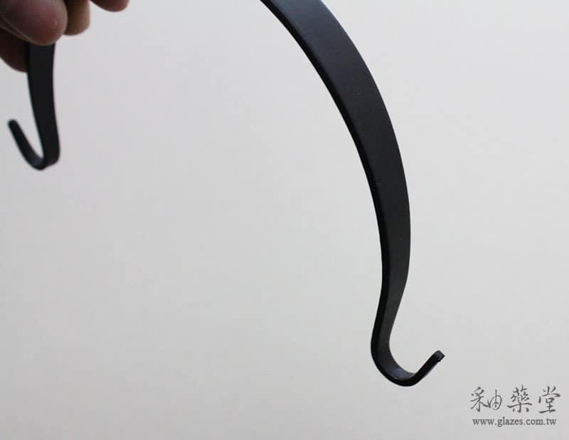 陶藝工具配件TP91-黑色烤漆鐵把/壺把TP91-05-Teapot Handle