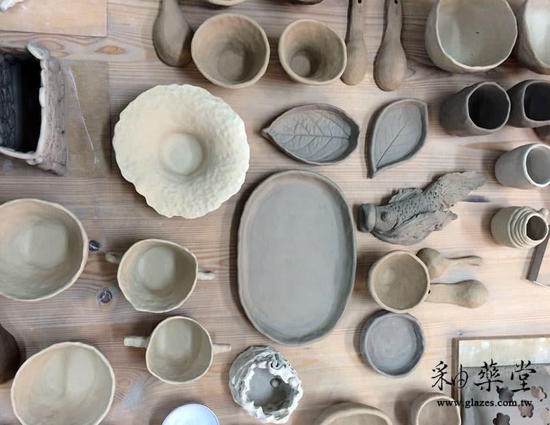 陶藝手捏課-01-器皿