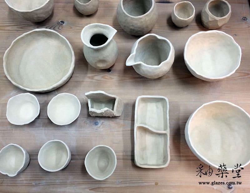 陶藝手捏課-02-器皿