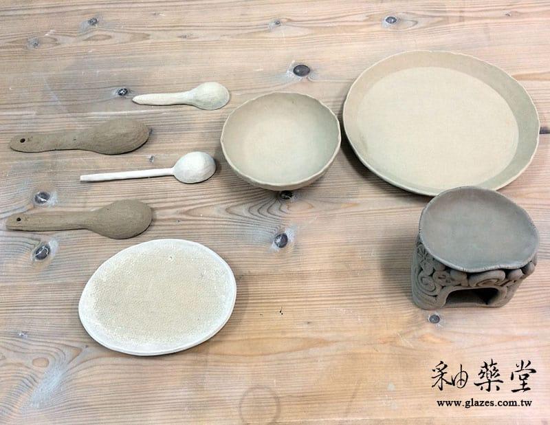 陶藝手捏課-03-盤子
