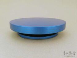 ZB03-05-日式手轉盤/旋轉盤,盤面25cm,低底盤(金屬)(無線平整)2