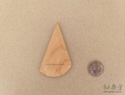 BT22-陶藝雕塑木片/弧形板-1