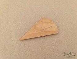 BT22-陶藝雕塑木片/弧形板-2