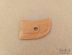 BT24-01-陶藝雕塑木片/弧形板-2