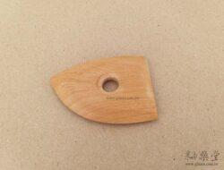 BT24-02-陶藝雕塑木片/弧形板-2