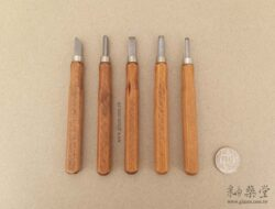 KT15-01-木刻刀/木雕刻刀套裝(五支裝)